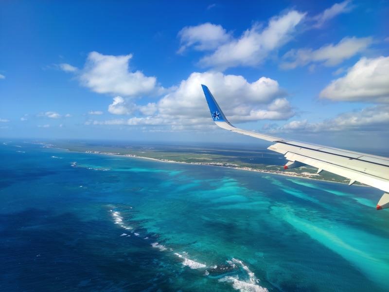 Arrivée au Yucatan