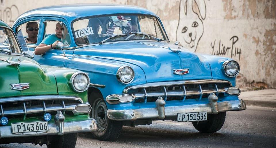 taxi collectif a cuba