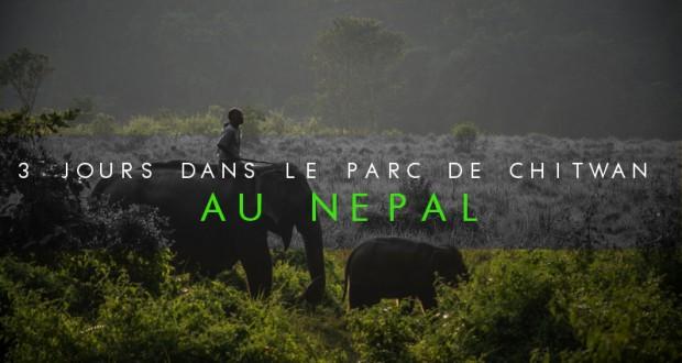 COUVERTURE 3 jours dans le parc national de chitwan au nepal