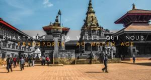 COUVERTURE Bhaktapur la ville qui nous transporte ua moyen age