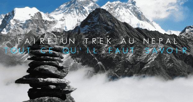 COUVERTURE Trek au Nepal tout ce qu 'il faut savoir