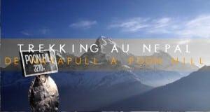 COUVERTURE Trekking au Nepal