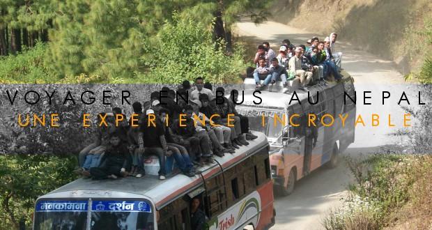 COUVERTURE Voyager en bus au Nepal