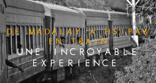 De mandalay a Hsipaw en train