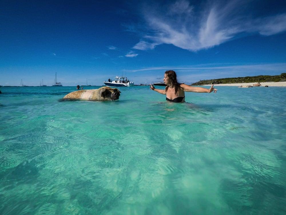 Pis Beach Bahamas Exumas