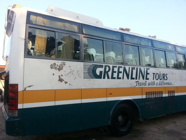 Greenline bus