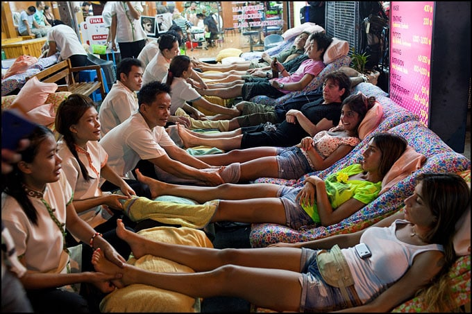 thailande foot massage