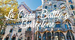 La casa Battló à Barcelone