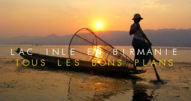 Lac inlé Birmanie