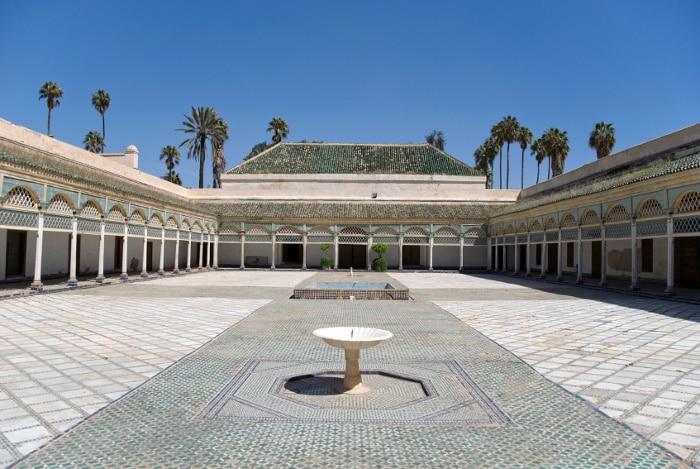 Le-palais-Bahia marrakech