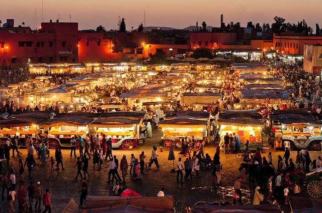 Marrakech place-jemaa-el-fna