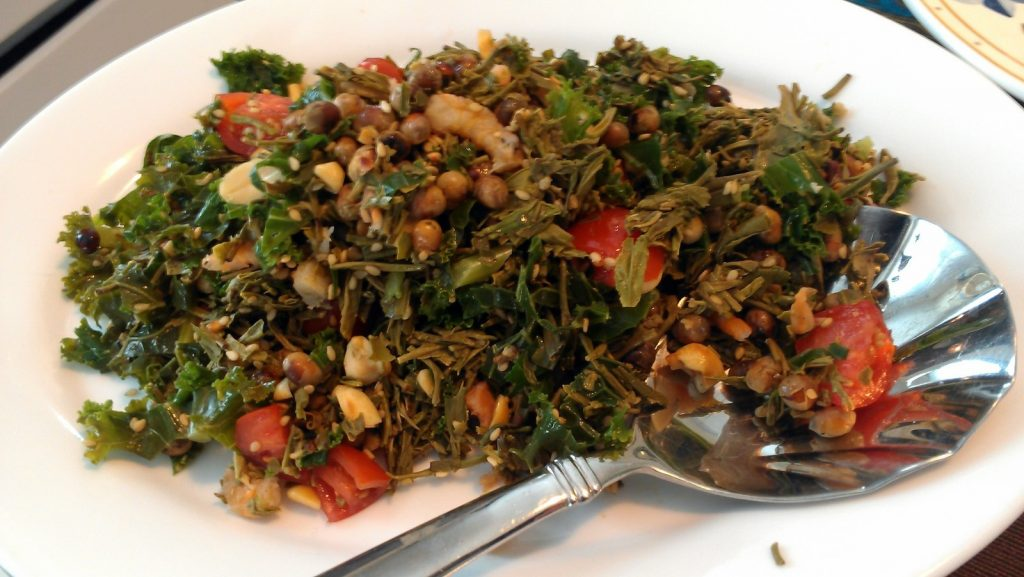 Salade de thé vert
