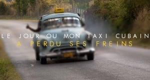 taxi a cuba dans les rues de la havane