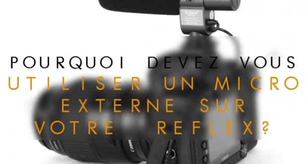 reflex avec micro externe